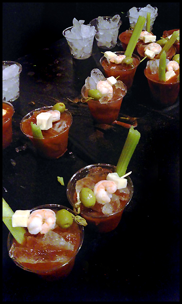 Cole's line up of Bloodies