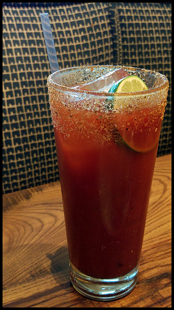 Founding Farmers Bloody Mary - no chicken and waffle garnish :(