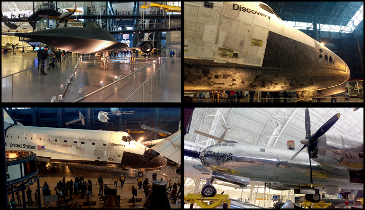 OMG THE SHUTTLE! (and the SR-71 and Enola Gay)