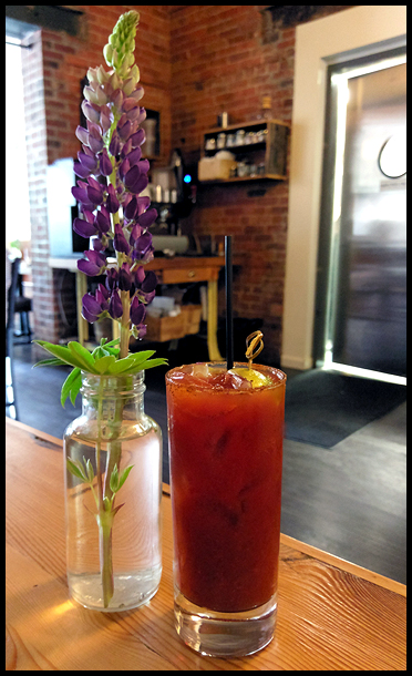 Kimchi Bloody Mary at The Black Sheep
